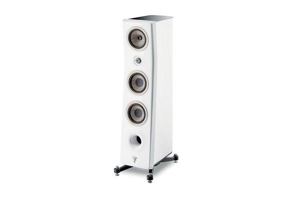 Large image of Focal Kanta N2 Carrara White 3-Way Floor Standing Loudspeaker (Each) - JMLKANTN2-WHG/WHL