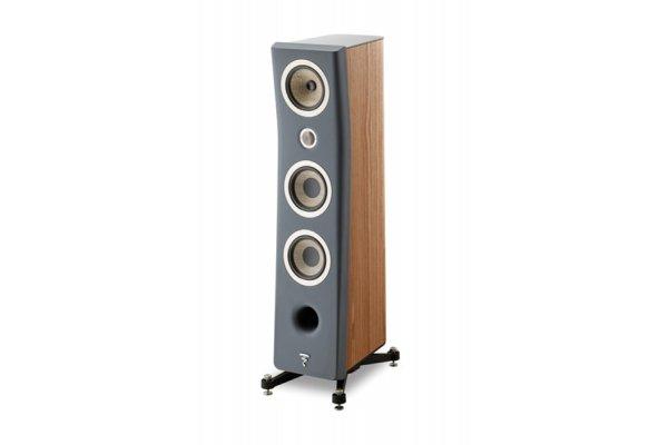 Large image of Focal Kanta N2 Dark Grey Walnut 3-Way Floor Standing Loudspeaker (Each) - JMLKANTN2-WA/DGMFRO