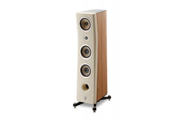 Large image of Focal Kanta N2 Ivory Walnut 3-Way Floor Standing Loudspeaker (Each) - JMLKANTN2-WA/IVORFRO
