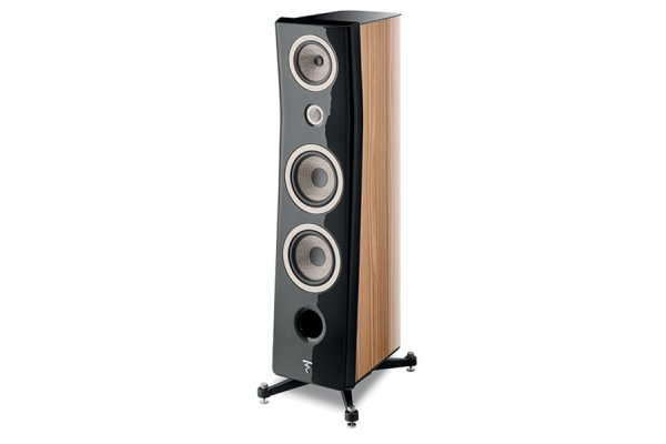 Large image of Focal Kanta N3 Black Lacquer Walnut 3-Way Floor Standing Loudspeaker (Each) - JMLKANTN3-BLQR/HG