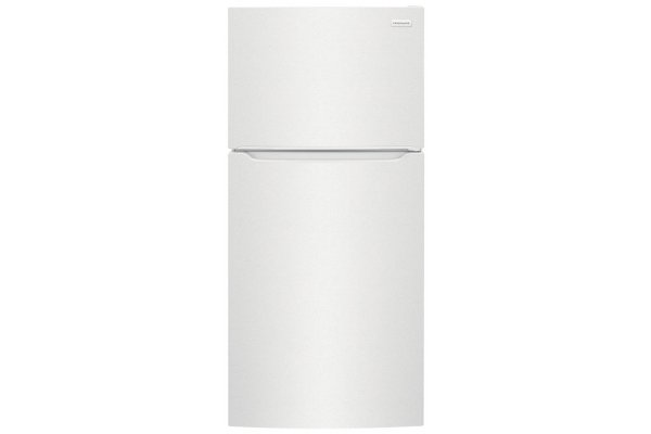 Large image of Frigidaire 18.3 Cu. Ft. White Top Freezer Refrigerator - FFTR1814WW