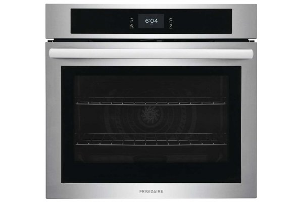 """Large image of Frigidaire 30"""" Stainless Steel Single Electric Wall Oven With Fan Convection - FCWS3027AS"""