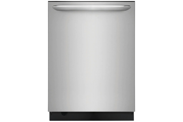 Large image of Frigidaire Gallery 24'' Smudge-Proof Stainless Steel Built-In Dishwasher With Dual OrbitClean Wash System - FGID2468UF