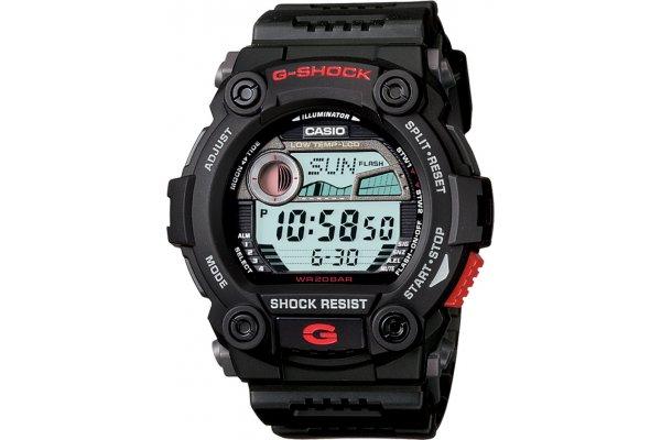 Large image of G-Shock Digital Black Resin Watch, Neutral Dial - G7900-1