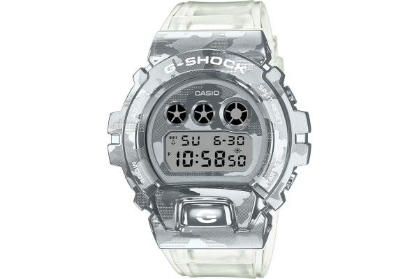 Large image of G-Shock Metal Covered Series Semi-TransparentCamo Digital Mens Watch - GM6900SCM-1