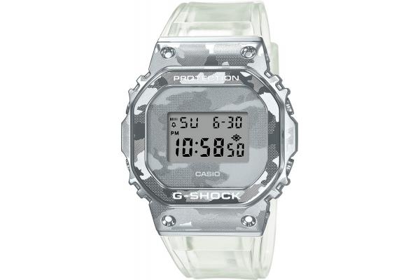 Large image of G-Shock Metal Covered Series Semi-Transparent Camo Digital Mens Watch - GM5600SCM-1