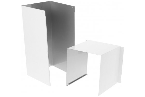 Large image of Cafe 8' Matte White Duct Cover Extension - CX8DC9SPWM