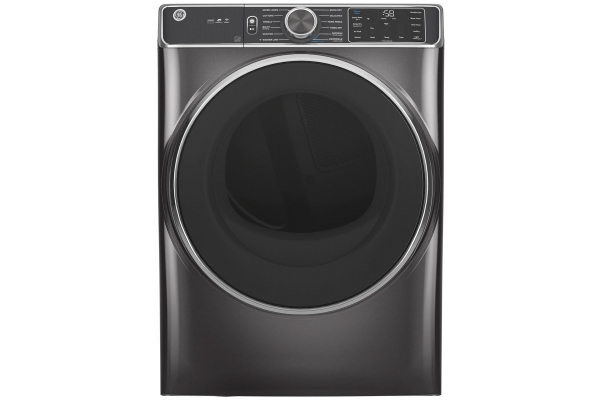 Large image of GE 7.8 Cu. Ft. Capacity Diamond Grey Smart Front Load Electric Dryer With Steam - GFD85ESPNDG