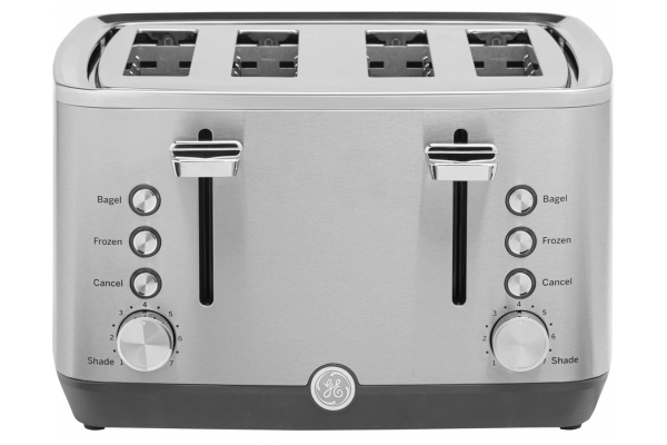 Large image of GE Stainless Steel 4-Slice Toaster - G9TMA4SSPSS
