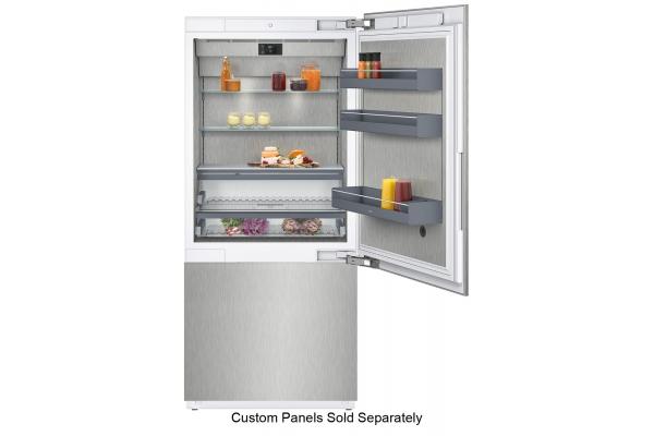 "Large image of Gaggenau Vario 400 Series 36"" Panel Ready Two-Door Bottom Freezer - RB492705"