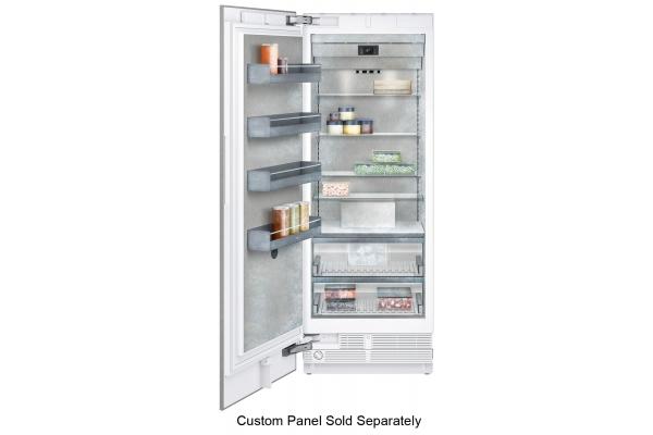 """Large image of Gaggenau Vario 400 Series 30"""" Panel Ready Built-In Freezer - RF471705"""