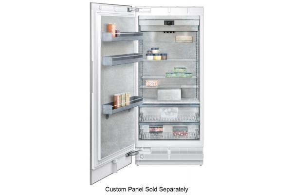 """Large image of Gaggenau Vario 400 Series 36"""" Panel Ready Built-In Freezer - RF491705"""