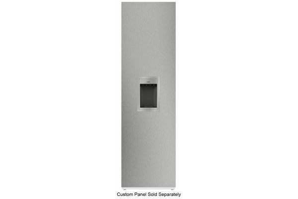 """Large image of Gaggenau Vario 400 Series 24"""" Panel Ready Right-Hinge Built-In Freezer With Ice And Water Dispenser - RF463706"""