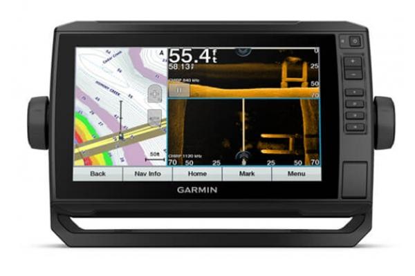 "Large image of Garmin Echomap UHD 93sv 9"" GPS Navigation System With GT56UHD-TM Transducer - 010-02523-01"