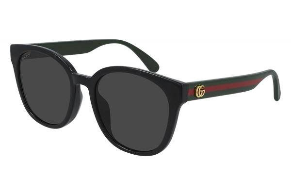 Large image of Gucci Black GG0855SK Cat-Eye Sunglasses 56mm - GG0855SK001