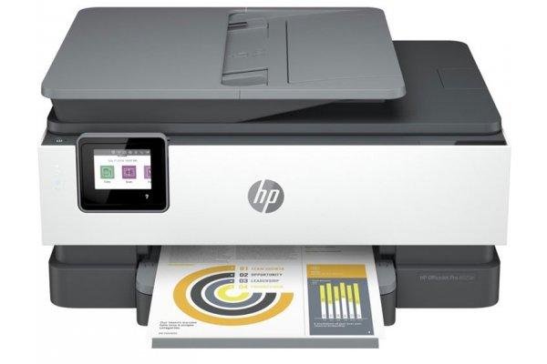 Large image of HP Officejet Pro 8025e Inkjet Multifunction All-in-One Printer - HPOJP8025E