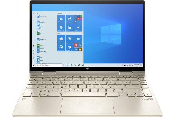 "Large image of HP Pale Gold ENVY x360 Convert 13.3"" 2-In-1 Laptop Intel i7-1165G7 8GB RAM 512GB SSD, Intel Iris Xe Graphics - 13M-BD0033DX"