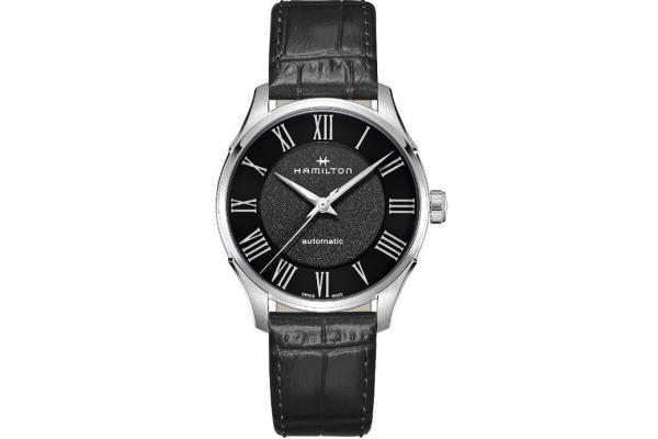 Large image of Hamilton Jazzmaster Auto Black Dial Mens Watch - H42535730