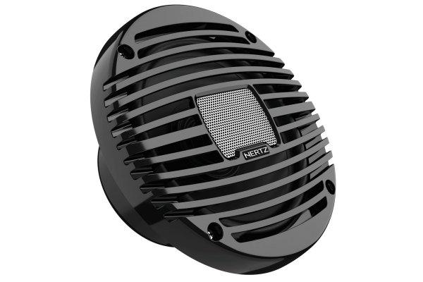"Large image of Hertz HEX 6.5 M Marine 6.5"" Black Coaxial Speakers (Pair) - HEX6.5 M-C"