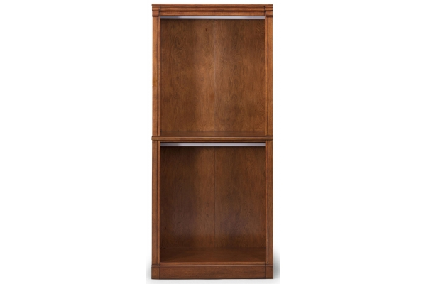 Large image of Homestyles Aspen Brown Closet Wall Hanging Unit - 5520-77