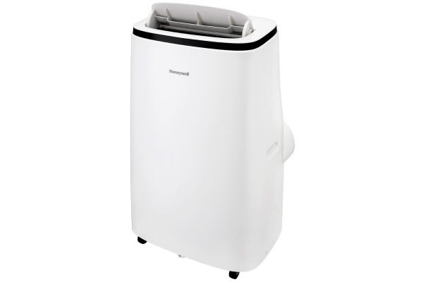Large image of Honeywell Contempo Series 12,000 BTU ASHRAE (8,050 BTU SACC) White Heat And Cool Portable Air Conditioner, Dehumidifier & Fan - HJ2HESWK8