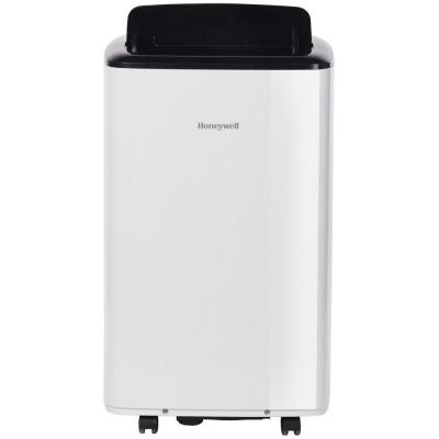 Honeywell 8,000 BTU White/Black Portable Air Conditioner, Dehumidifier & Fan