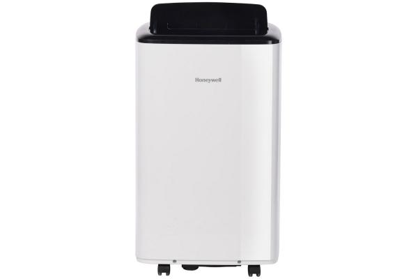 Large image of Honeywell 8,000 BTU ASHRAE (5,500 BTU SACC) White/Black Compact Portable Air Conditioner, Dehumidifier & Fan - HF8CESWK5
