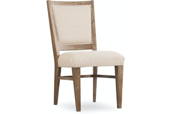 Large image of Hooker Furniture Dining Room Studio 7H Stol Upholstered Side Chair - 5382-75410