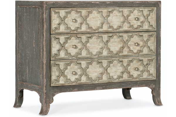Large image of Hooker Furniture Living Room Alfresco Bellissimo Bachelors Chest - 6025-90117-95