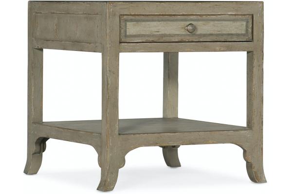 Large image of Hooker Furniture Living Room Alfresco Piazza End Table - 6025-80114-83