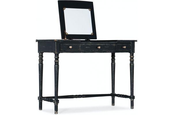 Large image of Hooker Furniture Living Room Alfresco Riflesso Vanity Desk - 6025-90011-99