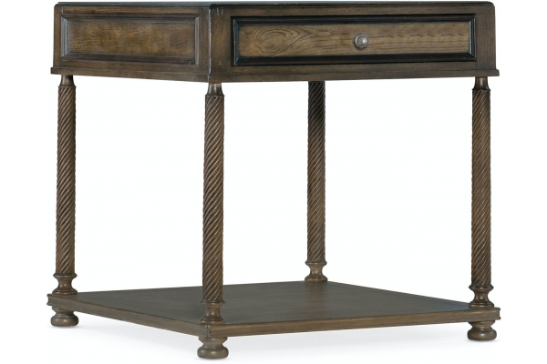 Large image of Hooker Furniture Living Room Vera Cruz Rectangular End Table - 6005-80114-85