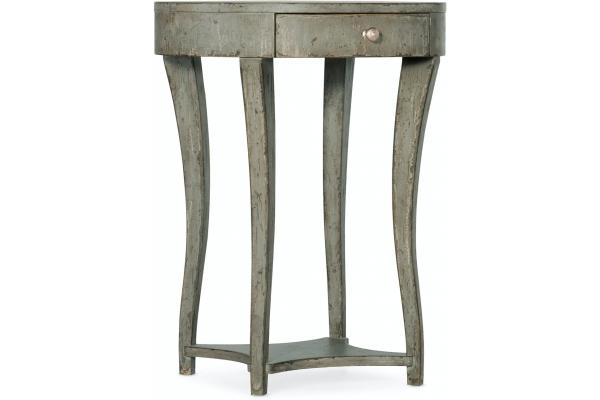 Large image of Hooker Furniture Living Room Alfresco La Sabbia 1 Drawer Nightstand - 6025-90015-90
