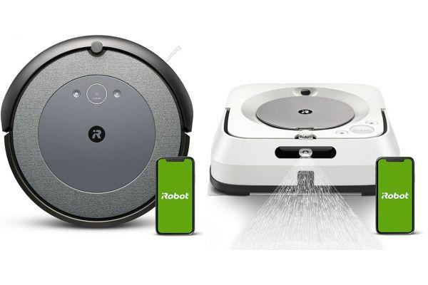 Large image of iRobot Roomba i3 3150 Wi-Fi Robot Vacuum & Braava Jet M6 Package - IROBPACKAGEI3
