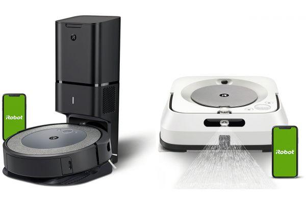 Large image of iRobot Roomba i3+ 3550 Robot Vacuum, Auto Dirt Disposal, Braava Jet M6 - IROBPACKAGEI3PLUS