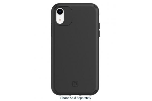 Large image of Incipio Duo Black Case For iPhone 11 & XR - IPH-1906-BLK