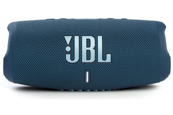 Large image of JBL Charge 5 Blue Portable Waterproof Speaker With Powerbank - JBLCHARGE5BLUAM