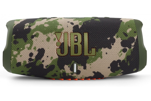 Large image of JBL Charge 5 Camo Portable Waterproof Speaker With Powerbank - JBLCHARGE5SQUADAM