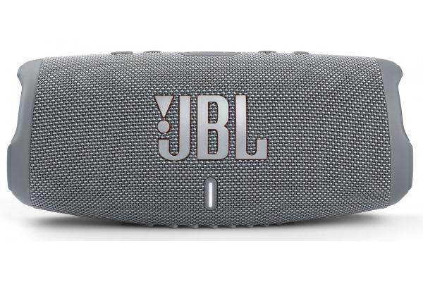 Large image of JBL Charge 5 Grey Portable Waterproof Speaker With Powerbank - JBLCHARGE5GRYAM