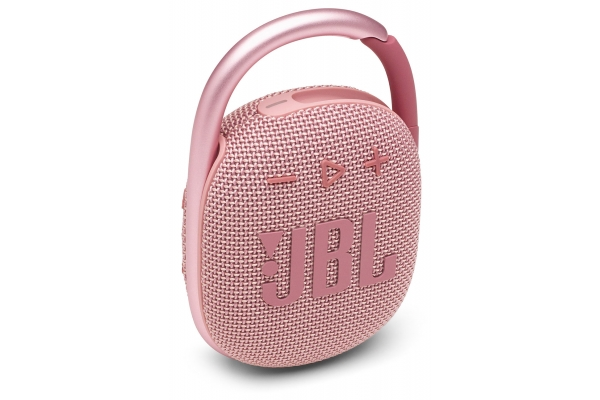 Large image of JBL Clip 4 Pink Portable Bluetooth Speaker - JBLCLIP4PINKAM