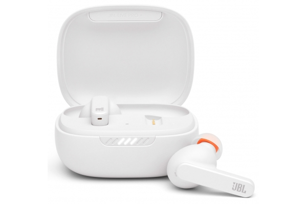 Large image of JBL Live Pro+ TWS White True Wireless In-Ear NC Headphones - JBLLIVEPROPTWSWAM