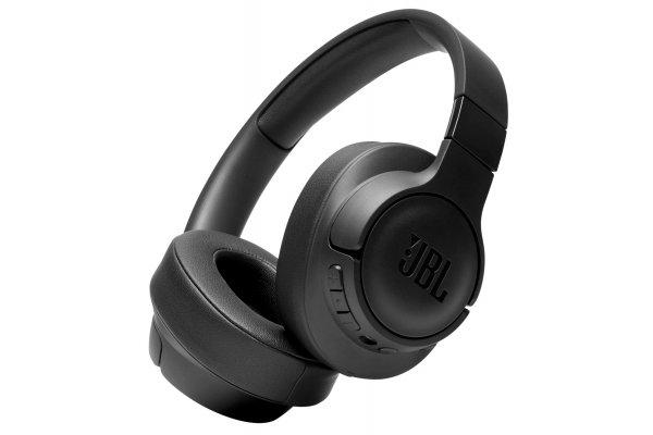 Large image of JBL TUNE 760NC Black Wireless Over-Ear Noise Canceling Headphones - JBLT760NCBLKAM