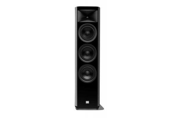 Large image of JBL Synthesis HDI-3600 High Gloss Black 2.5-Way Floorstanding Loudspeaker (Each) - HDI3600BLQAM
