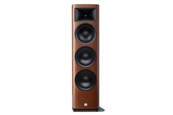 Large image of JBL Synthesis HDI-3800 Satin Walnut 2.5-Way Floorstanding Loudspeaker (Each) - HDI3800WALAM