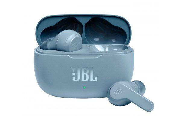 Large image of JBL Vibe 200TWS Blue True Wireless In-Ear Headphones - JBLV200TWSBLUAM