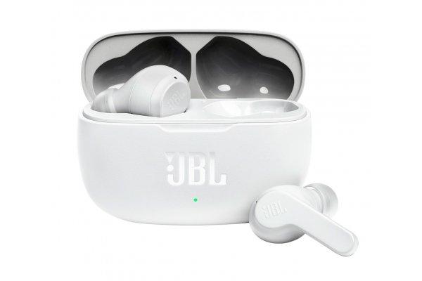 Large image of JBL Vibe 200TWS White True Wireless In-Ear Headphones - JBLV200TWSWHTAM