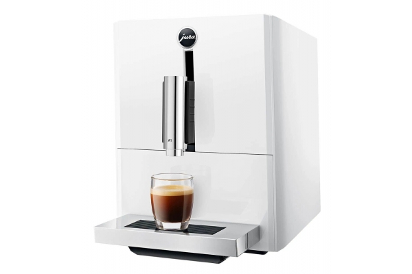 Large image of Jura A1 Piano White Automatic Coffee Machine - 15264