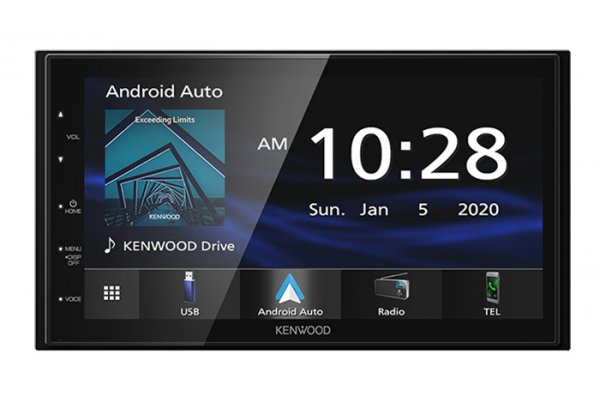 Large image of Kenwood Digital Multimedia Receiver With Bluetooth - DMX-47S