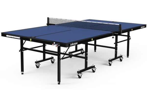 Large image of Killerspin UnPlugNPlay 415 Deep Blu Indoor Ping Pong Table - 303-02