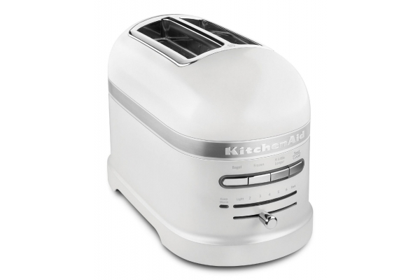 Large image of KitchenAid Pro-line Series White Toaster - KMT2203FP